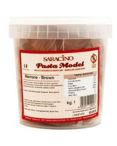 Saracino Brown Modelling Paste 1kg - Cracked Tub Only