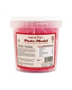 Saracino Fuschia Modelling Paste 1kg - Cracked Tub Only