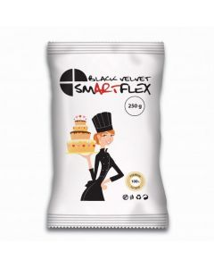 SmartFlex Black Velvet Sugarpaste - 250g