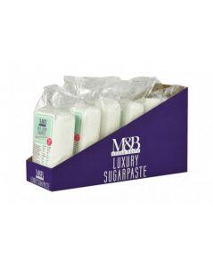 M&B Luxury Sugarpaste White 250g