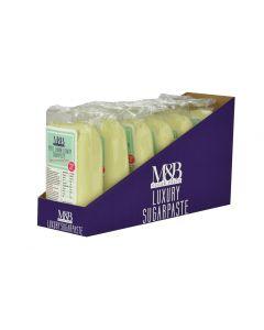M&B Luxury Sugarpaste Lemon 250g - Best Before 12-12-19