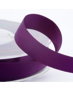 25mm Satin Ribbon x 2M -Aubergine