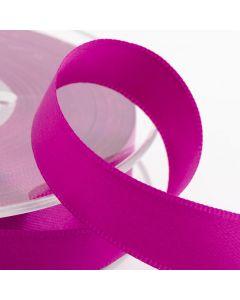 16mm Satin Ribbon x 2M - Clover Pink