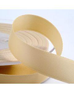 25mm Satin Ribbon x 2M -Cream