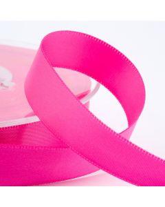 16mm Satin Ribbon x 2M - Hot Pink
