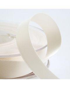 25mm Satin Ribbon x 2M - Ivory