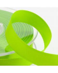 16mm Satin Ribbon x 2M - Lime