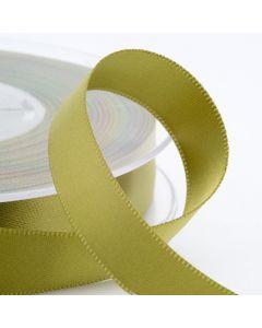 16mm Satin Ribbon x 2M - Moss Green