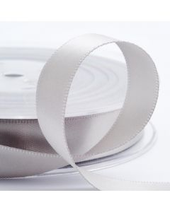 25mm Satin Ribbon x2M - Silver
