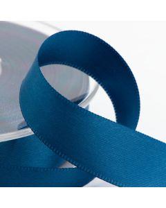 16mm Satin Ribbon x 2M - Smoke Blue